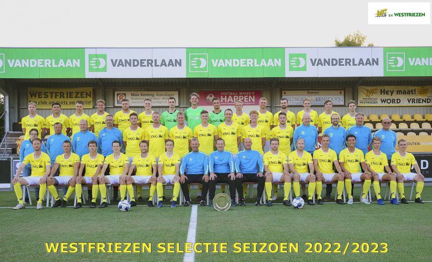team foto van Westfriezen 2